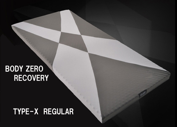 西川リビング【オフタイムでの疲労回復】BODY ZERO RECOVERY マットレスTYPE-X REGULAR 普通の硬さセミダブルサイズ80×1200×2000mm