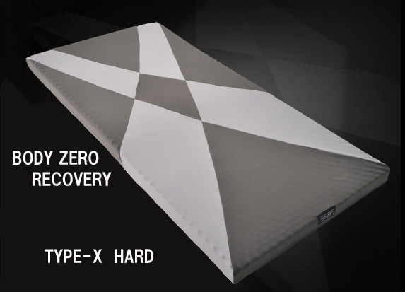 西川リビング【オフタイムでの疲労回復】BODY ZERO RECOVERY マットレスTYPE-X HARD 硬めセミダブルサイズ80×1200×2000mm