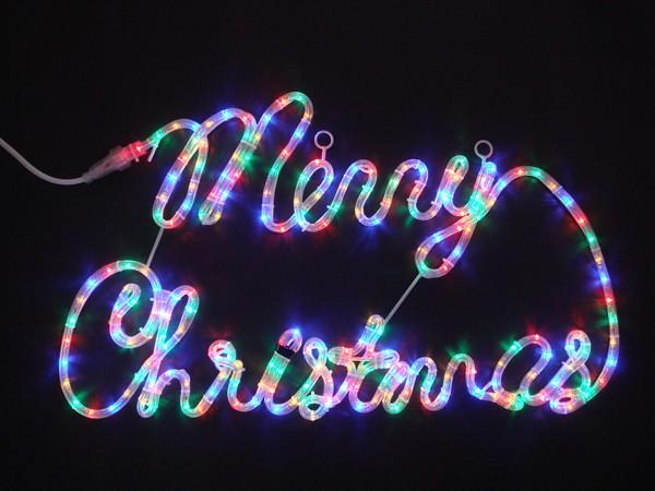 イルミネーション クリスマスイルミネーション イルミネーションライト 屋外用 メリークリスマスミックス 2Dレターモチーフ 送料無料