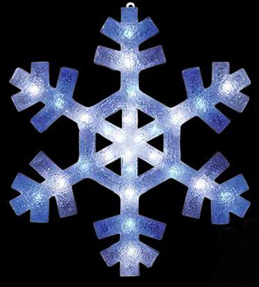 LED 2Dブリリアント スノーフレーク(L) 【イルミネーション】 クリスマスイルミネーションモチーフ