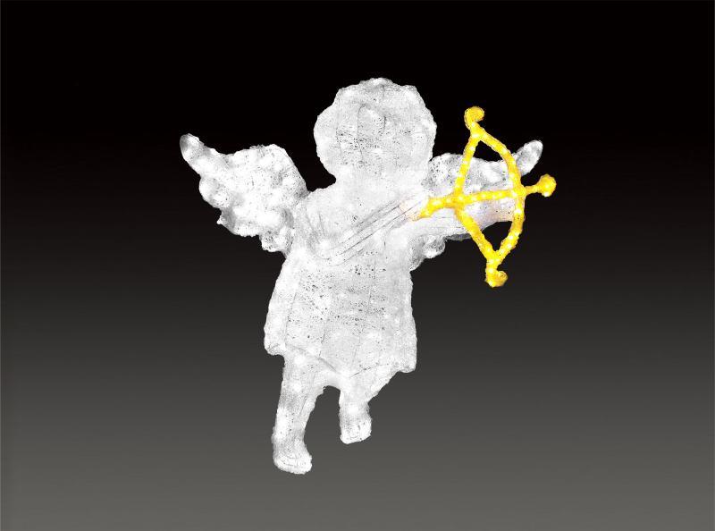 LEDクリスタルグローキューピットボウ 【イルミネーション】 クリスマスイルミネーションモチーフ 【送料無料!】