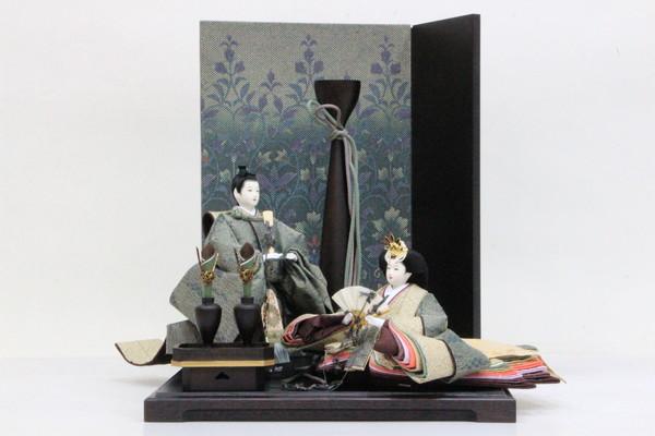 アート&デザイン 後藤由香子創作雛人形 PICCOLOシリーズ 深山 【雛人形親王飾り】
