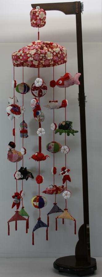 電動回転雛吊るし飾り円寿 (三月雛人形)