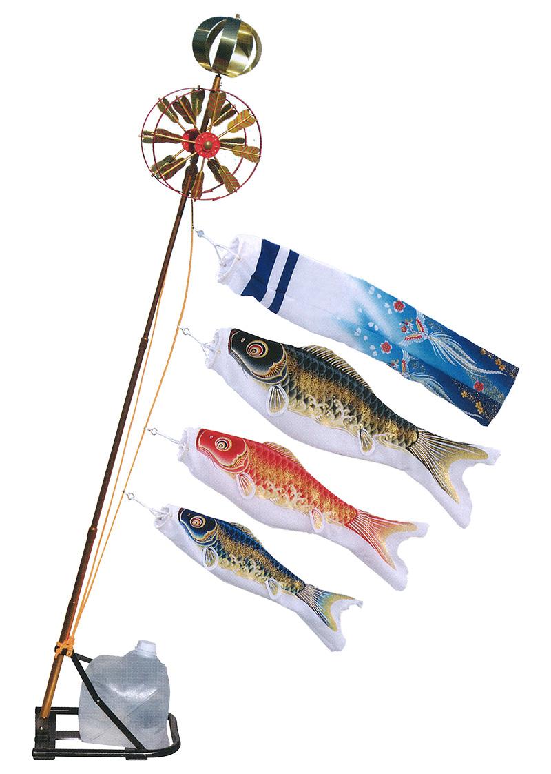 こいのぼり 旭天竜 鯉のぼり ベランダ用 0.7m ミニスタンドセット 翔勇鯉 撥水加工