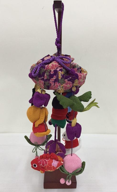 卓上吊るし飾りセット大傘付 (新桃太郎)