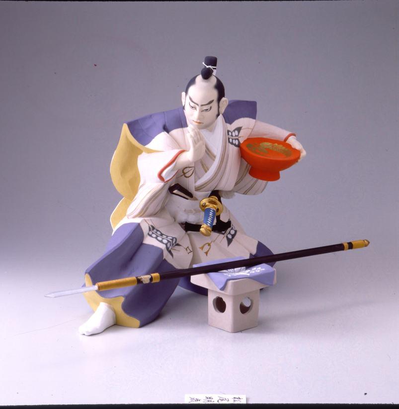 黒田武士(日本号)【博多人形】