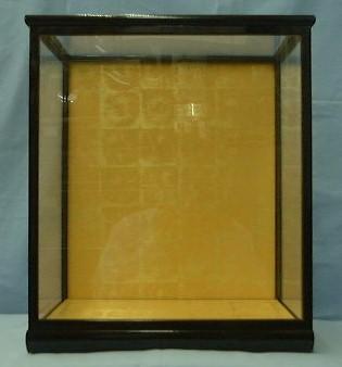 光琳35ガラスケース(黒塗り前戸)