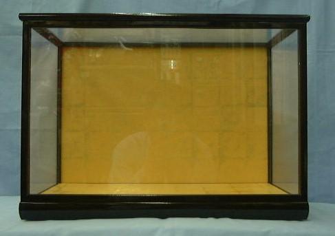 木目込13ガラスケース(黒塗り前戸)