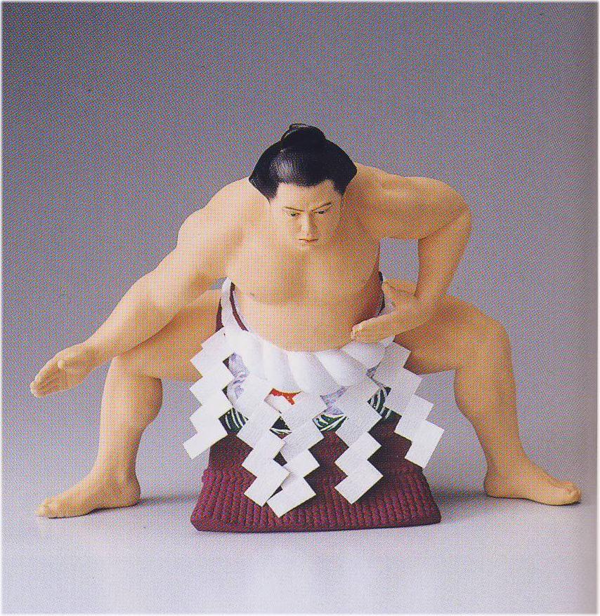 雲龍土俵入り【博多人形】