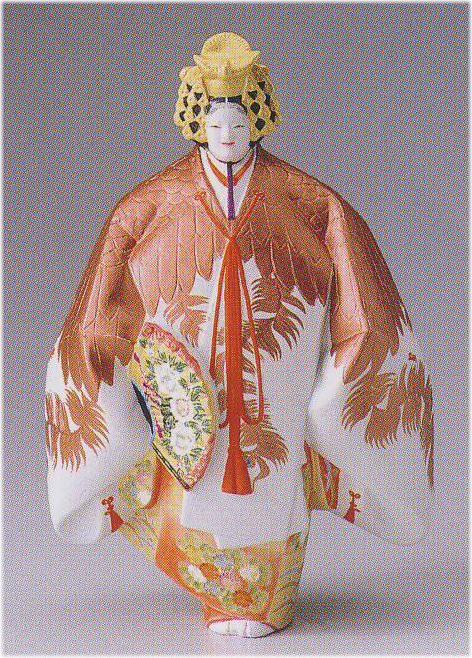 羽衣(中)【博多人形】