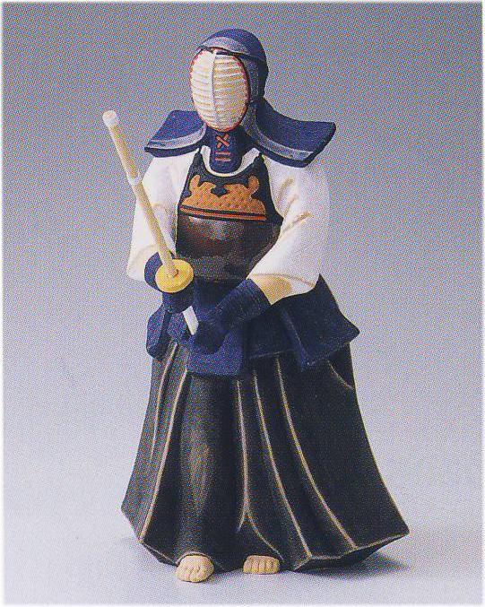 剣道(中)【博多人形】, 日王株式会社:8636d6ae --- krianta.ru