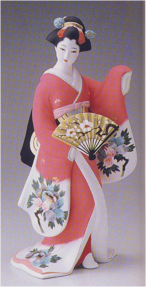 舞牡丹【博多人形】