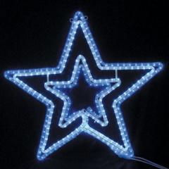 LEDダブルスター【イルミネーション】送料無料 クリスマスイルミネーションモチーフ 【smtb-k】【w3】