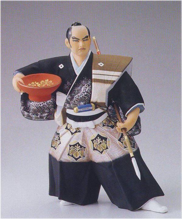 黒田武士(特大)【博多人形】