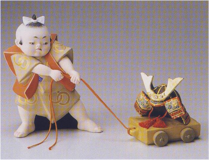 勝引【博多人形】