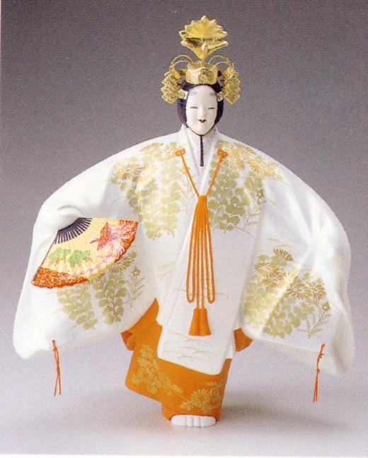 羽衣(小)【博多人形】