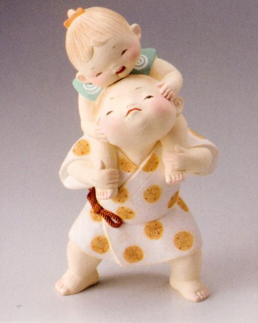 腕ぱく【博多人形】