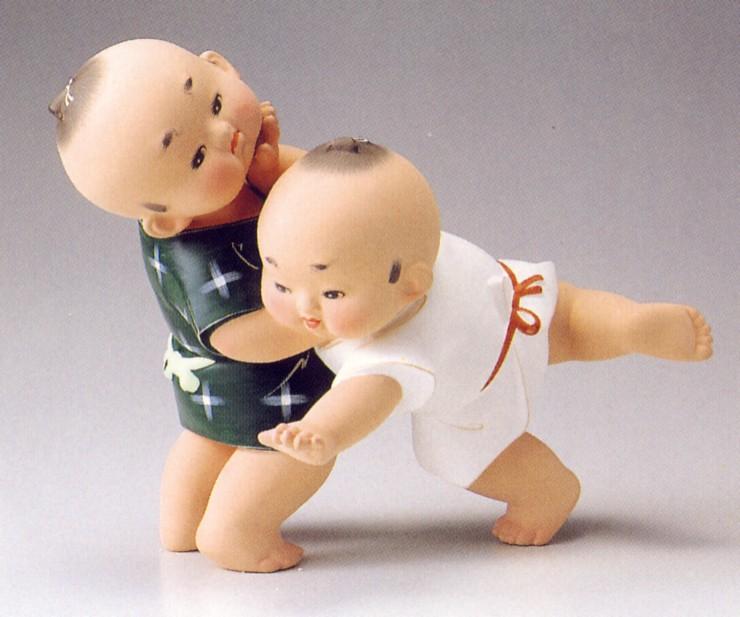 のこったのこった【博多人形】
