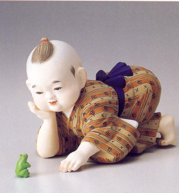 野辺の唄【博多人形】