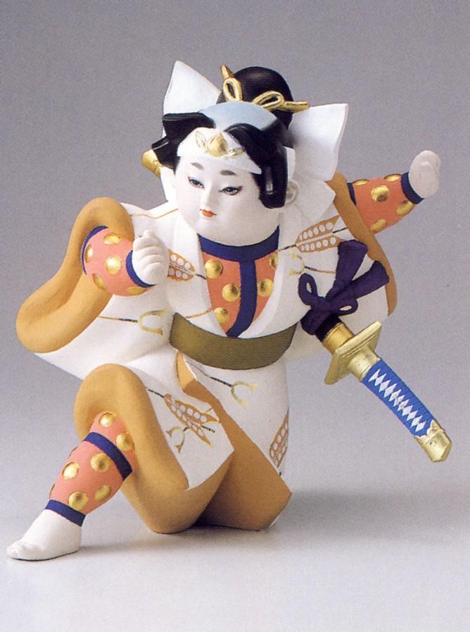 桃太郎【博多人形】