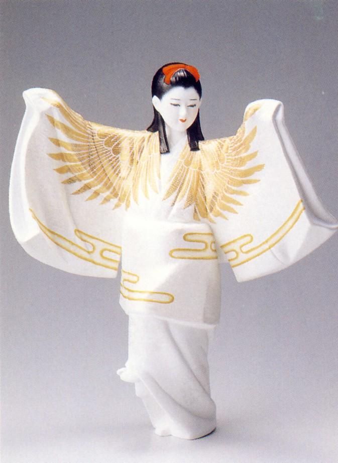 鶴(小)【博多人形】