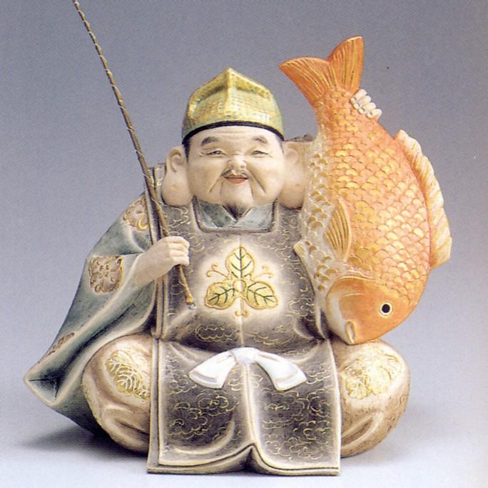 恵比須【博多人形】