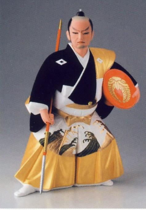 0705黒田武士【博多人形】