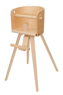 【カロタ・チェア ハイチェア CRT-01H】 SDI Fantasia CAROTA-chair ベビーチェア 子供椅子