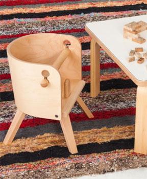【カロタ・チェア ローチェア CRT-02L】 SDI Fantasia CAROTA-chair ベビーチェア 子供椅子