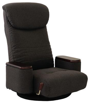 【松風・まつかぜ】木製ボックス肘付回転座椅子 No.83-872/No.83-873