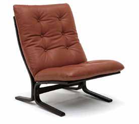 ワイド肘無椅子 L08310 U 本革(合成皮革)タイプ