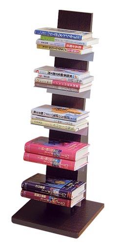 ブックタワー ロータイプ L53DA / L54NA (コミック 文庫本 収納 本棚)