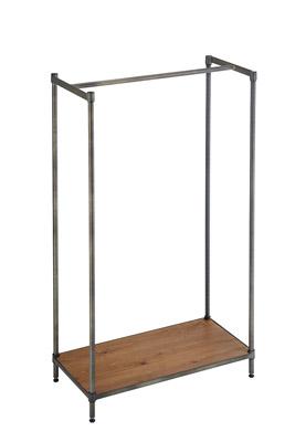 ホームエレクター ヴィンテージ Hanger Rack Woodセット 間口900×奥行450×高さ1600(mm)