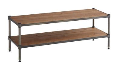 HomeERECTA VINTAGE (ホームエレクター ヴィンテージ) Low Board Wood (ローボードウッド)セット 間口1200×奥行450×高さ450(mm)