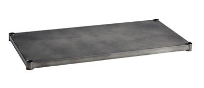 ホームエレクター ヴィンテージソリッドシェルフ H1848VSLD1 間口1200mm × 奥行450mm シルバー (1枚入)