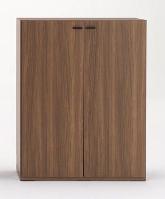 新色追加して再販 リビング収納棚 LIVING SHELF 幅90cm板扉付き KFS-90 KFD-90 タイムセール