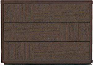 COMOチェスト プッシュタイプ (幅910~1050mm×奥行435mm) 三段