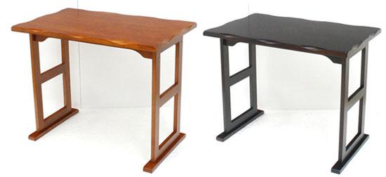 高座椅子に合う小さなテーブルです 畳 捧呈 カーペットにも置けるソリ脚仕様 安定感があり 持ち運びもし易いテーブルです くつろぎテーブル 優先配送 幅80cm×奥行50cm×高さ63.5cm 高座椅子用