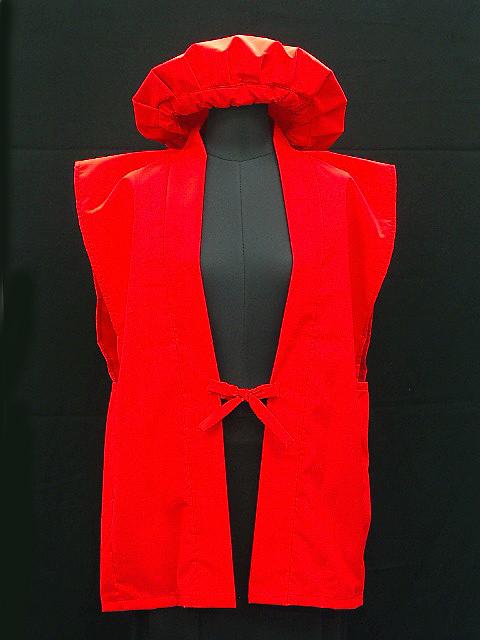 六十紅色背心、 紅色帽子一套。 寶貝紅相撲內衣可以包含。 給嬰兒潮一代,爺爺奶奶的一天!