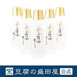 【豆腐の盛田屋 公式】豆乳シルクローション 金のまゆ 5本セット