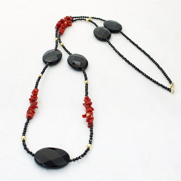 血赤珊瑚ネックレス(ジュエリーボックス入り) 品番SOT-0001 日本サンゴセンター/珊瑚/さんご/サンゴ/sango/coral/高知/産地直送/