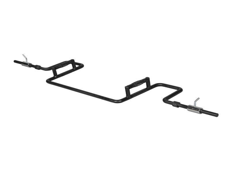スクワットシャフトA(28mm穴プレート用)(カラー付き)(ヘックスバー、トラップバー)