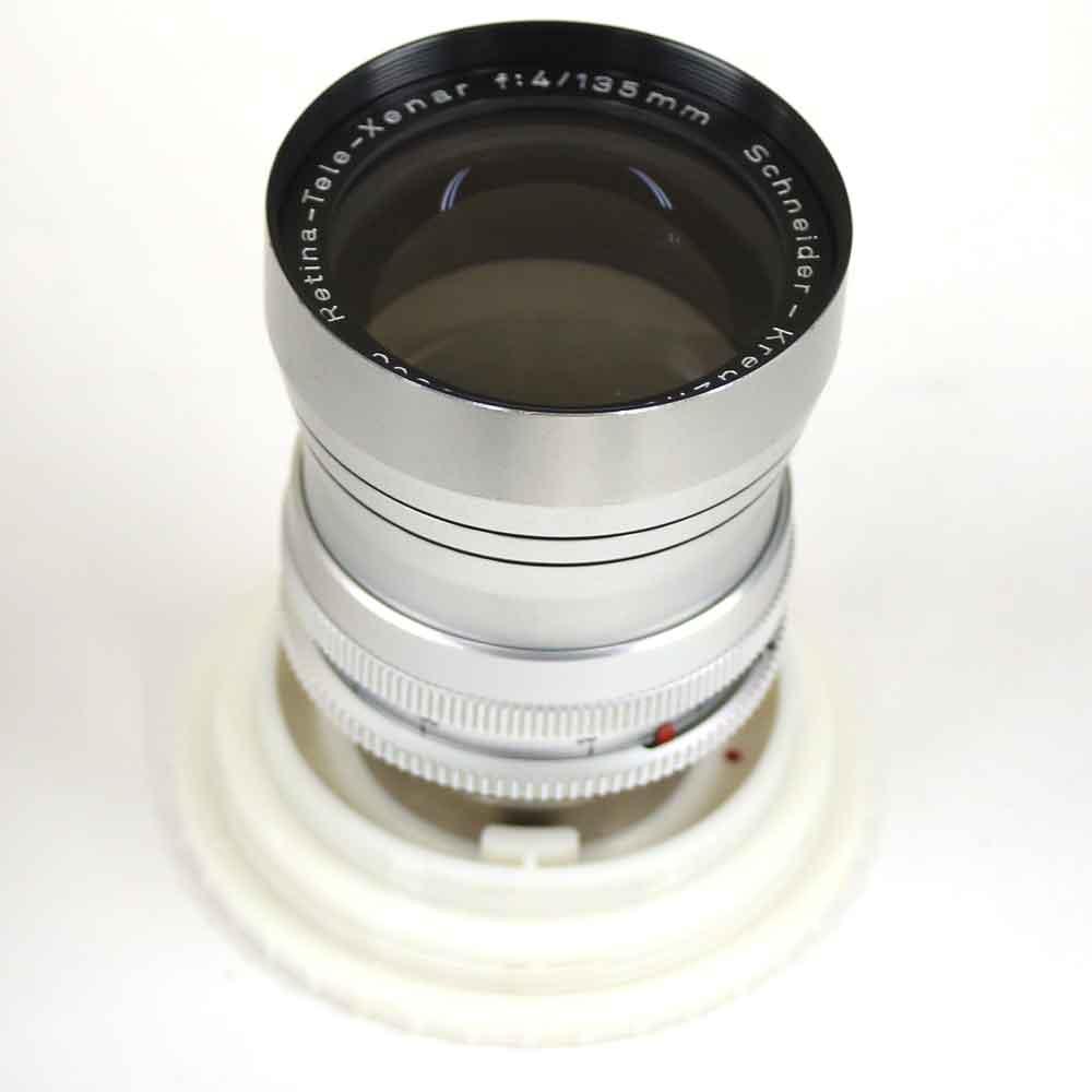 シュナイダー Mount 4/135 4/135mm レチナ・テレ・クセナー Deckel Retina-Tele-Xenar ディッケルマウントSchneider-Kreuznach ドイツ製レンズ