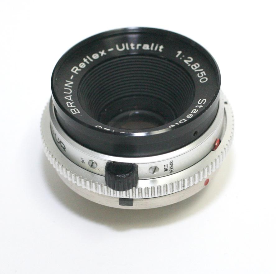 <title>ドイツ製レンズ ブラウン マーケティング リフレックス ウルトラリット 2.8 50 デッケルマウント用Braun-Reflex-Ultralit 1:2 8 for Braun Paxette Reflex</title>