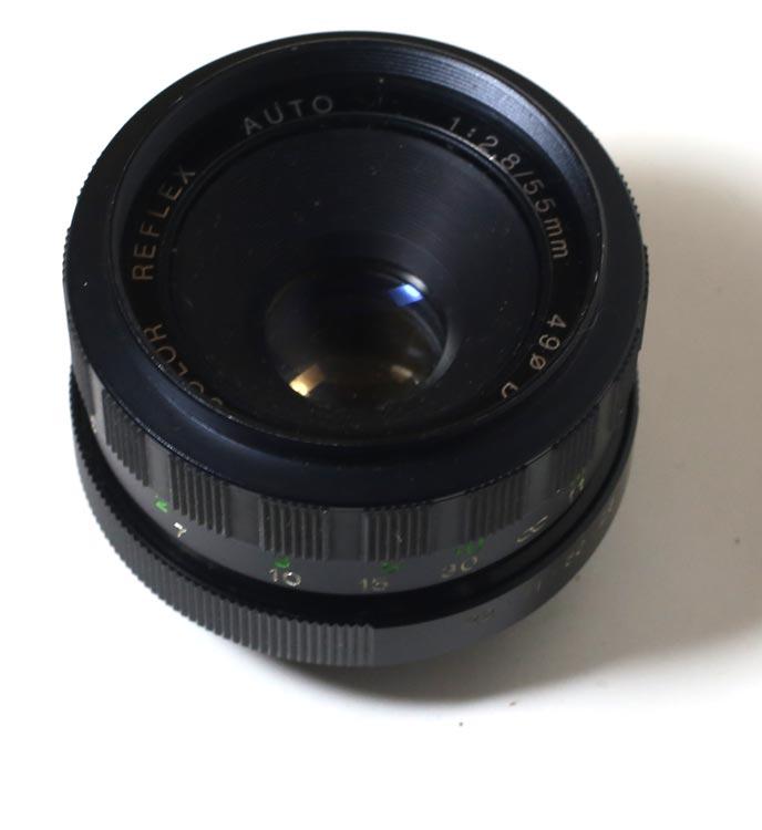 日本製レンズ ポルスト・カラー・リフレックス 2,8/55mm M42用 PORST COLOR REFLEX AUTO 1:2,8/55mm for M42