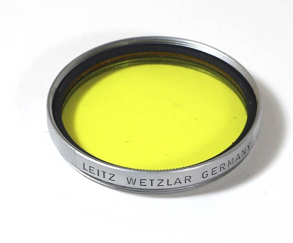 德國製造過濾器艾恩斯特·權利·貝拉39mm黄色Ernst Leitz Wetzlar 1 Germany 39mm Yellow