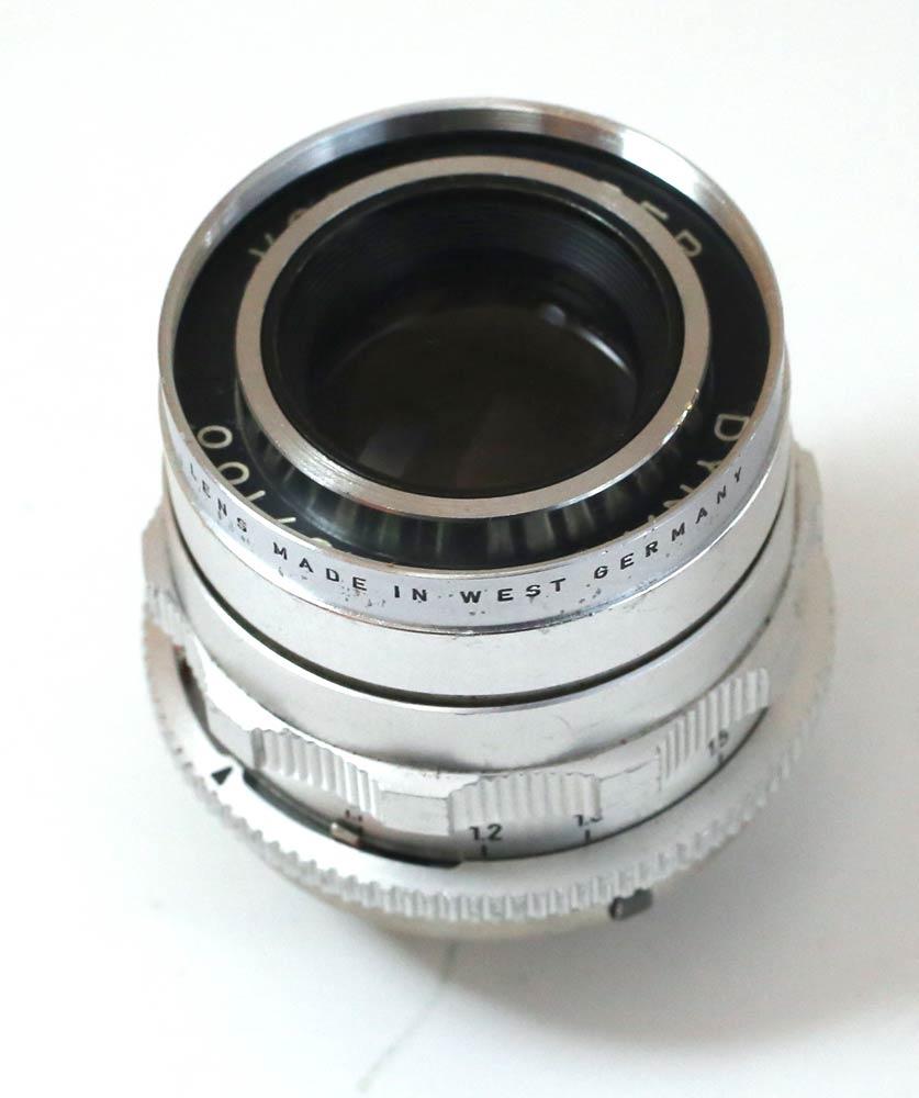 德国制造的镜头 voigtlander dynarex 4.8 / 100 Voigtländer Dynarex 1:4.8/100