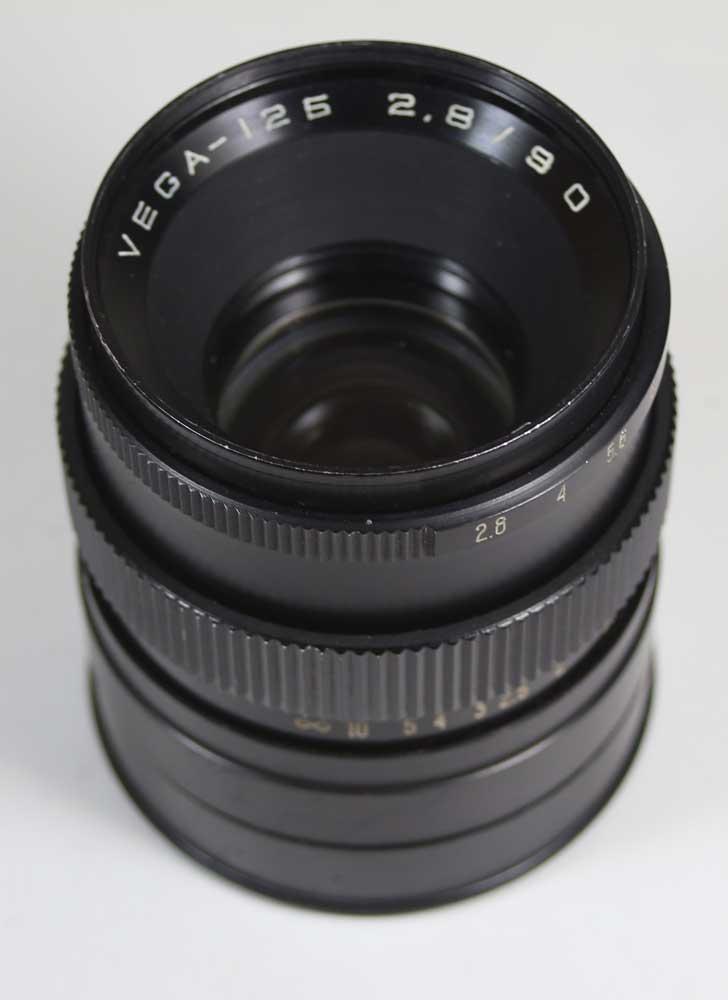 前蘇聯製造renzuvega 125 2.8/90mm pentakon 6事情VEGA-125 2,8/90 for Pentacon Six