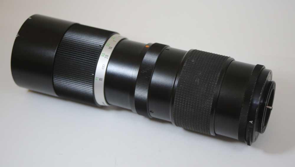 Beroflex 日本製造的鏡片,放大 4/90-210 M42 BEROFLEX 汽車遠端縮放 1: 4 f = 90 210 毫米為 M42