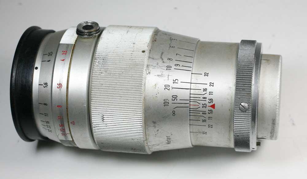 德国作出镜头德斯和洛娜 3.5 / 135 exakta 德斯 Yronar 1:03,5 f = 135 毫米为 Exakta